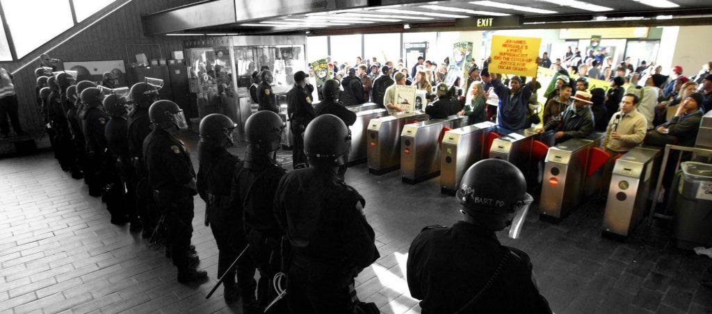 Fruitvale-Protest